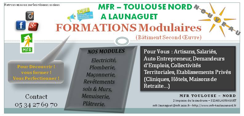Formation multiservice batiment